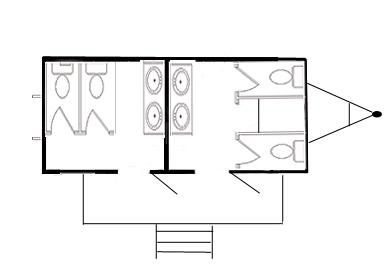 Location de toilettes et sanitaire chimique mobile - Plan de toilettes seches ...